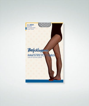 Body Wrappers A61 Adult Seamless Fishnet Tights