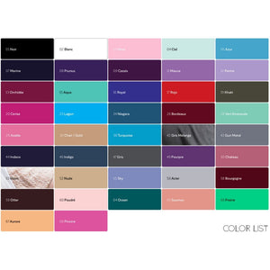 Ballet Rosa Dancewear Color Chart