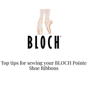 Sewing Bloch Pointe Shoes