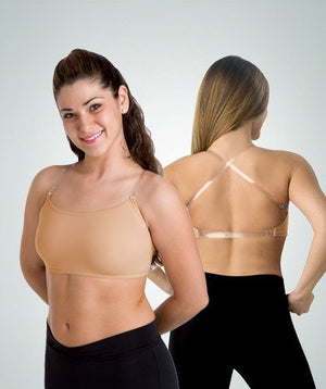 Body Wrappers Convertible Halter/Tank Style Bra