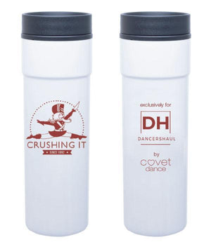 Crushing it - Red Nutcracker - White Tumbler