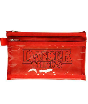 DANCER THINGS cosmetic or pencil pouch
