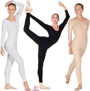 Adult Long Sleeve Unitard Colors