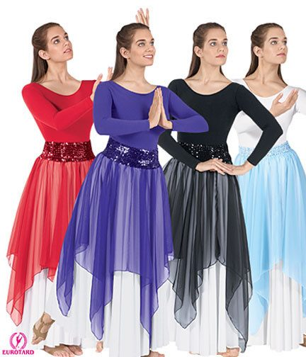 Eurotard 39768 Single Handkerchief Skirt/Top - Adult