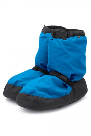 Bloch IM009 Warm up booties blue
