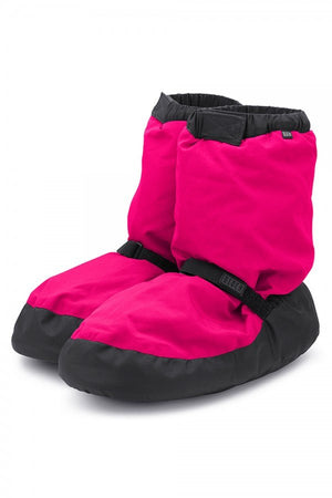Bloch IM009 Warm up booties Fluorescent Pink