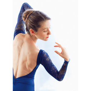 Ballet Rosa Sae Long Sleeve Leotard