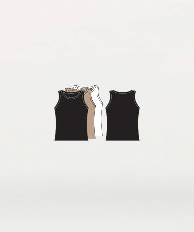 Body Wrappers M407 Hi-Neck Tank Pullover