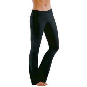 Motionwear 7163-497 V-Front Silkskyn Jazz Pants - Adult