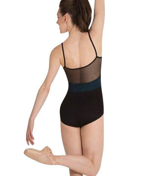 Body Wrappers Tiler Peck Designs P1012 Camisole Mesh Back Insert Leotard