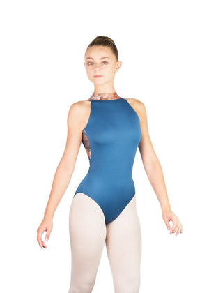 Ballet Rosa Riley High Neck Open Back Leotard