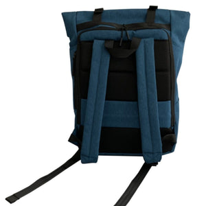 Russian Pointe Origami Backpack Blue - Back