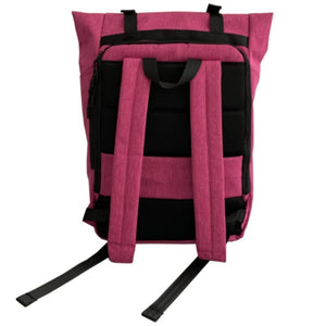 Russian Pointe Origami Backpack Pink - Back