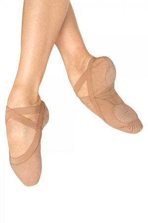 "Bloch S0621L ""Pro Elastic"" Canvas Split-Sole Ballet Shoes"