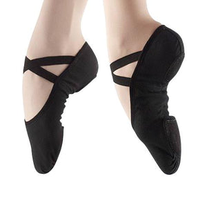 capezio 2028 canvas juliet ballet shoe - adult