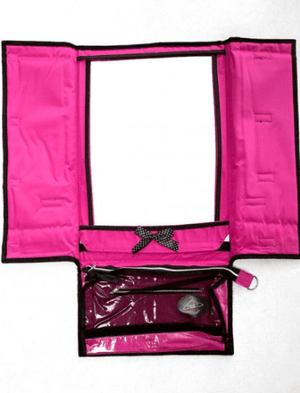Rac n Roll Hanging Mirror pink