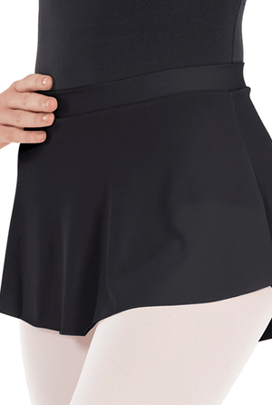 Eurotard 06121 Pull On Mini Ballet Skirt - Adult black