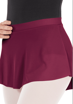 Eurotard 06121 Pull On Mini Ballet Skirt - Adult Burgundy