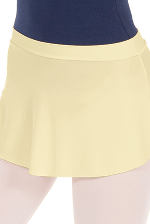Eurotard 06121 Pull On Mini Ballet Skirt - Adult buttercup