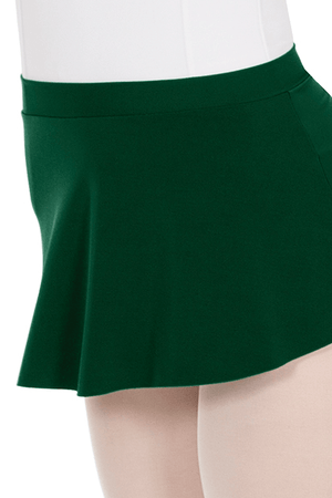 Eurotard 06121 Pull On Mini Ballet Skirt - Adult hunter