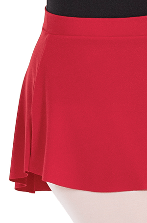 Eurotard 06121 Pull On Mini Ballet Skirt - Adult red