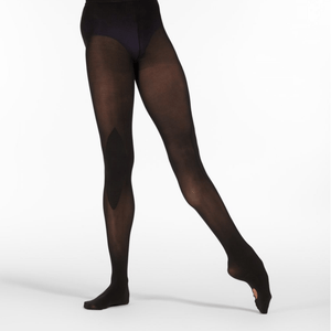 Z1 REHEARSE! PROFESSIONAL REHEARSAL BALLET TIGHTS Black