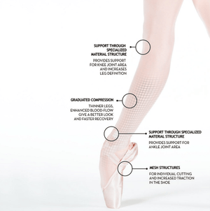 ZARELY Z2 PERFORM! PROFESSIONAL PERFORMANCE BALLET TIGHTS