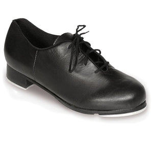So Danca Man Made Oxford Tap Shoe W/ Extra Hard Box black