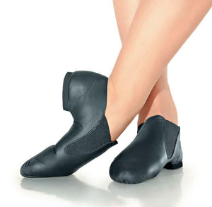 So Danca JZ40 Slip-On Pre-Arched Leather Jazz Shoe
