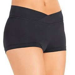 So Danca SL80/D257 V-Cut Waistband Booty Shorts - Adult