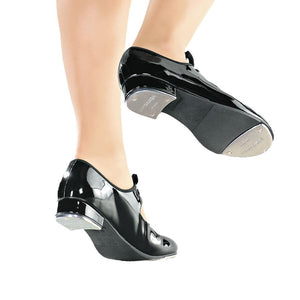 So Danca TA35 Snap Buckle Tap Shoe With Ties