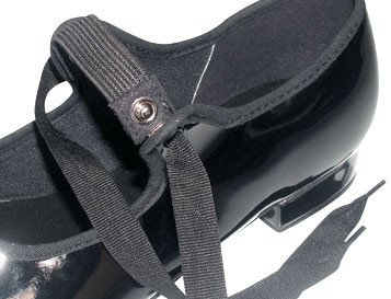 So Danca TA35 Snap Buckle Tap Shoe With Ties - Child