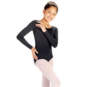 So Danca SL15/D6600 Long Sleeve Microfiber Leotard