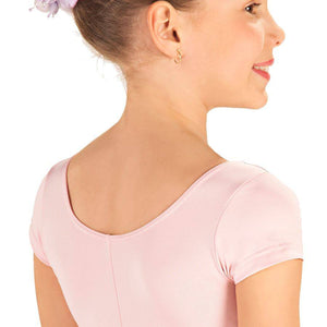 So Danca SL13/D156 Princess Cut Capped Sleeve Microfiber Leotard Back
