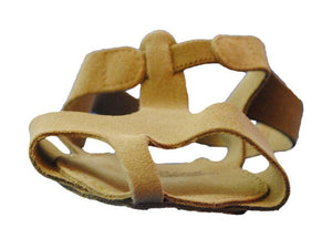 So Danca MD01 Lyrical Suede Sandal  Front