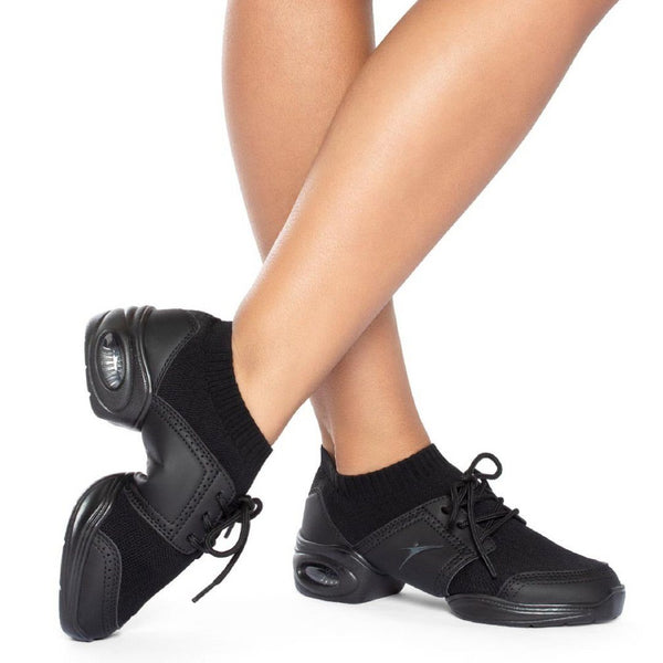 7e7f981dd192 So Danca DK80 Soren Split Rubber Sole Dance Sneaker - Adult