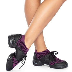 So Danca DK80 Dance Sneaker Purple Black