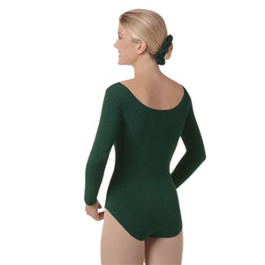 Eurotard 10265 Long Sleeve Leotard back