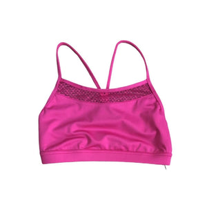 Capezio 11504W Lace Back Bra Top Very Berry - Blowout