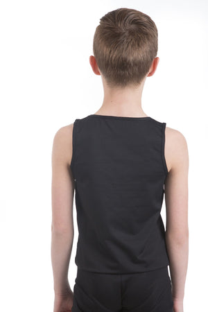 Body Wrappers B407 ProWEAR Hi-Neck Tank Pullover- Child black