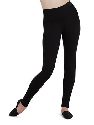 Capezio Active Leggings - Black - Front - Style:TB204W