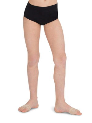 Capezio Brief - Girls - Black - Front - Style:TB111C