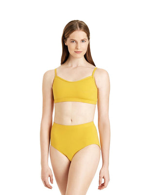 Capezio Brief - Girls - Yellow - Front - Style:TB111C
