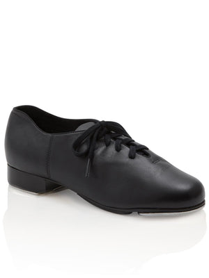 Capezio Cadence Tap Shoe - Child - Black - Front - Style:CG19C