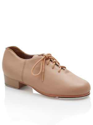 Capezio Cadence Tap Shoe - Child - Tan - Front - Style:CG19C