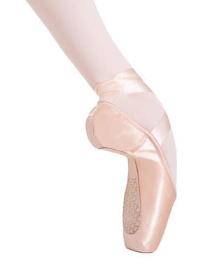 Capezio Cambré Broad Toe #4 Shank Pointe Shoe - Pink - Style:1128W