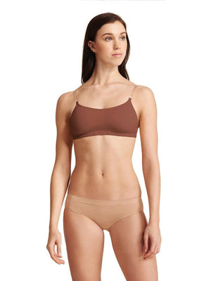 Capezio Camisole Bra with Bratek® - Brown - Style:3564