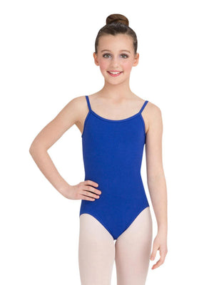 Capezio Camisole Leotard w/ Adjustable Straps - Girls - Blue - Style:CC100C