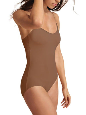 Capezio Camisole Leotard with Bratek® - Brown - Style:3565