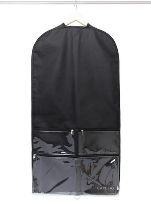 Capezio Clear Garment Bag - Black - Style:B217